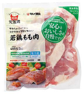 商品写真:南国元気鶏若鶏モモ肉400g