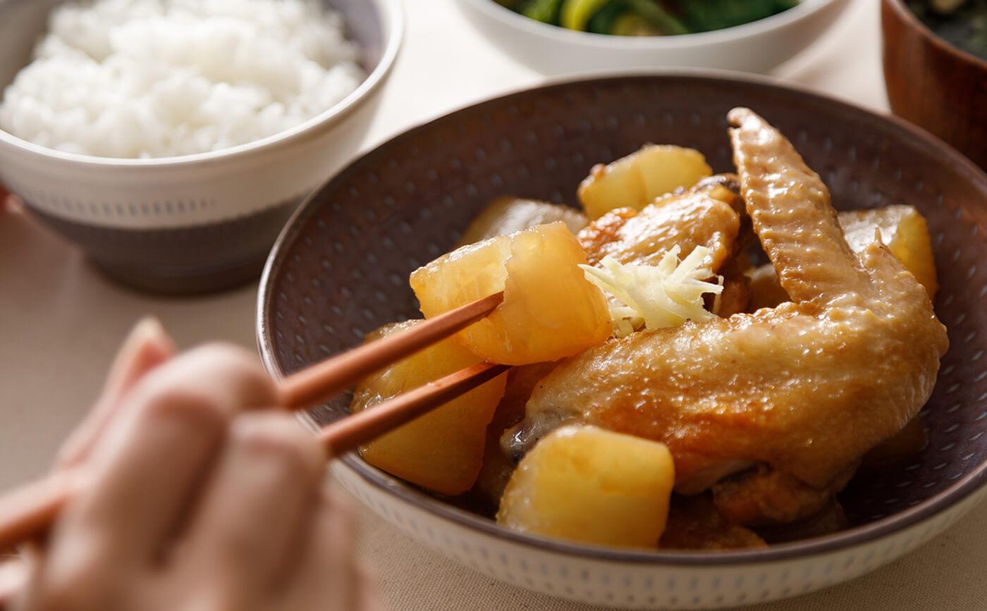 料理 鶏 手羽